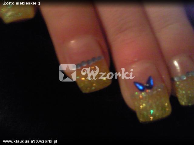 Żółto niebieskie ;)