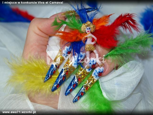 I miejsce w konkursie Viva el Carnaval