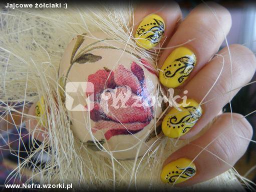 Jajcowe żółciaki :)