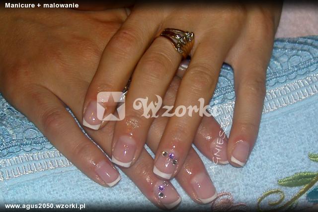 Manicure + malowanie