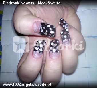 Biedronki w wersji black&white