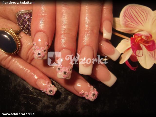 frenchos z kwiatkami