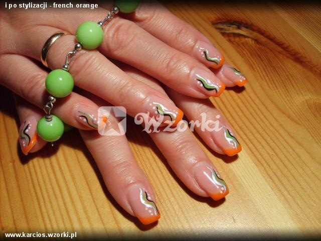 i po stylizacji - french orange