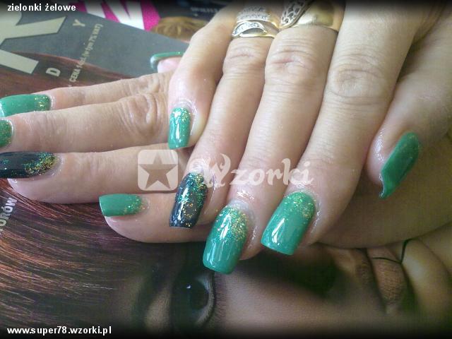 zielonki żelowe