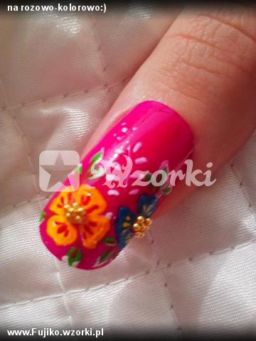 na rozowo-kolorowo:)