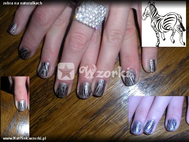 zebra na naturalkach