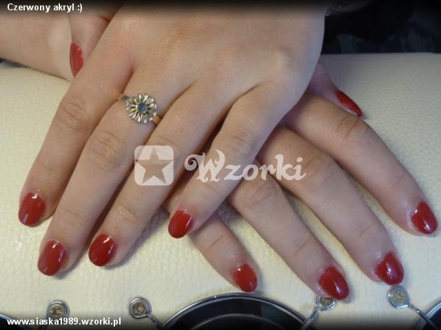 Czerwony akryl :)