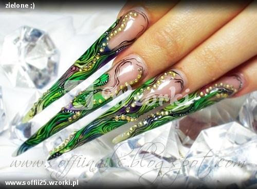 zielone ;)