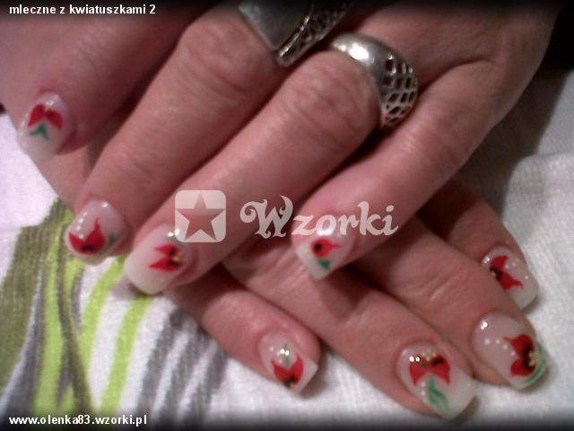 mleczne z kwiatuszkami 2