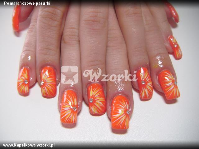 Pomarańczowe pazurki