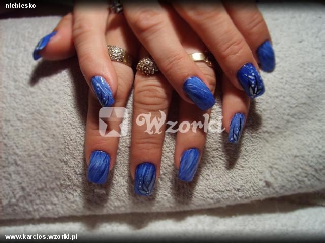 niebiesko