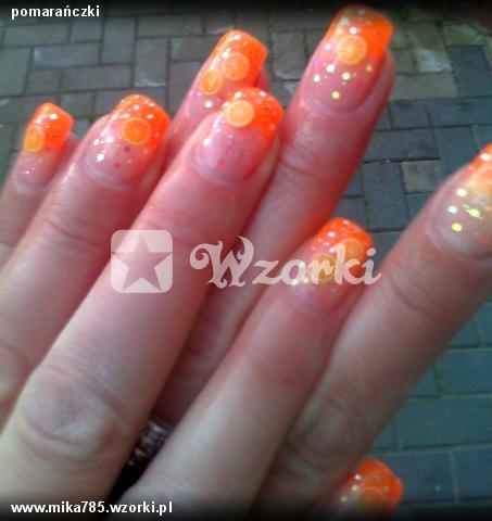 pomarańczki