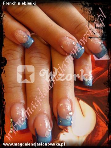 French niebieski
