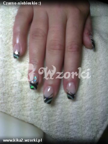 Czarno-niebieskie :)