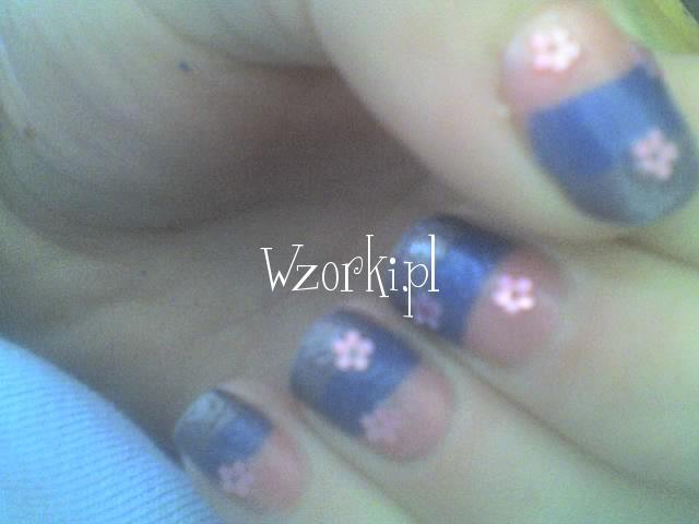 kolorowe z kwiatkami