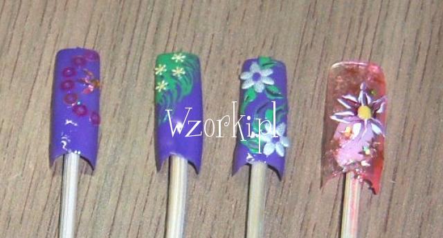 Fioletowo kwiatuszkowo ;)