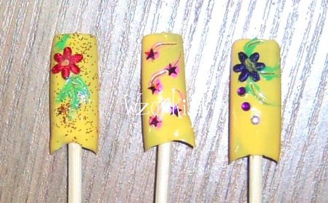 Żółciutko kwiatuszkowo ;)