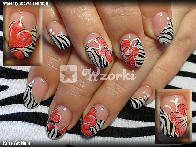 Walentynkowa zebra:)))