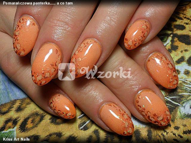 Pomarańczowa panterka..... a co tam