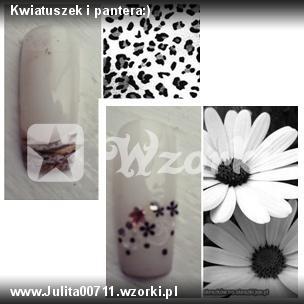 Kwiatuszek i pantera:)
