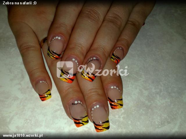 Zebra na safarii :D