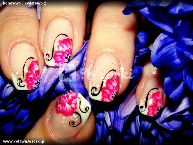 kolorowo i kwiatowo :)