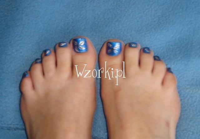 Intensywny niebieski kolorek:)