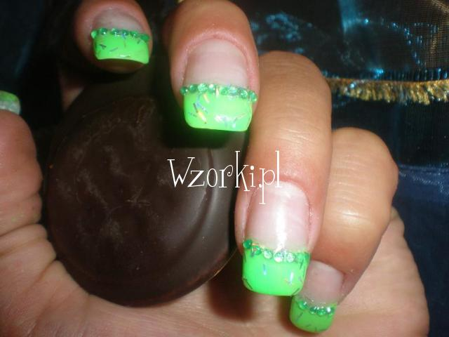 zielone jabuszka hehe:)