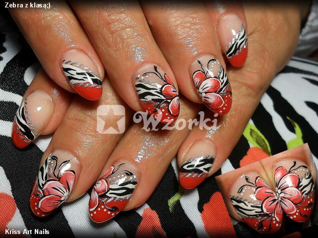 Zebra z klasą;)