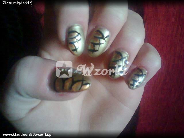 Złote migdałki :)
