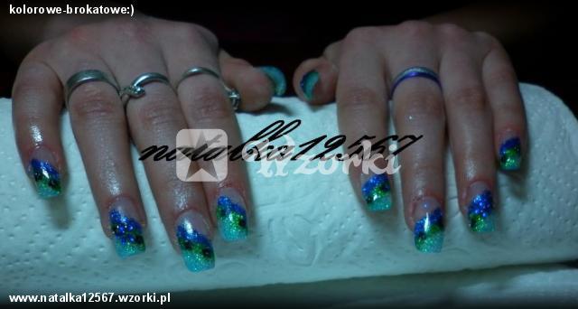 kolorowe-brokatowe:)