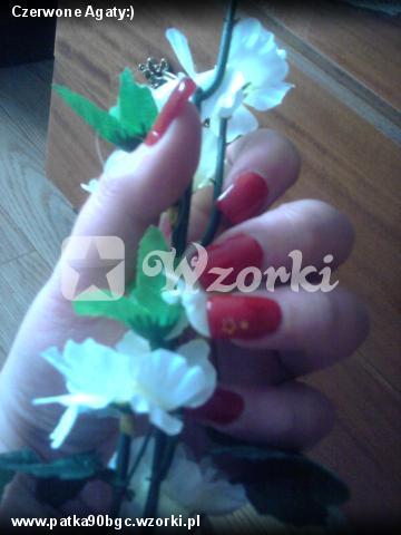 Czerwone Agaty:)