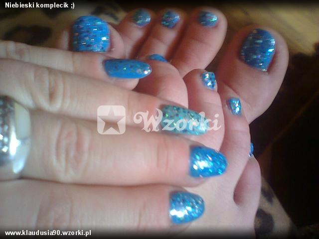 Niebieski komplecik ;)