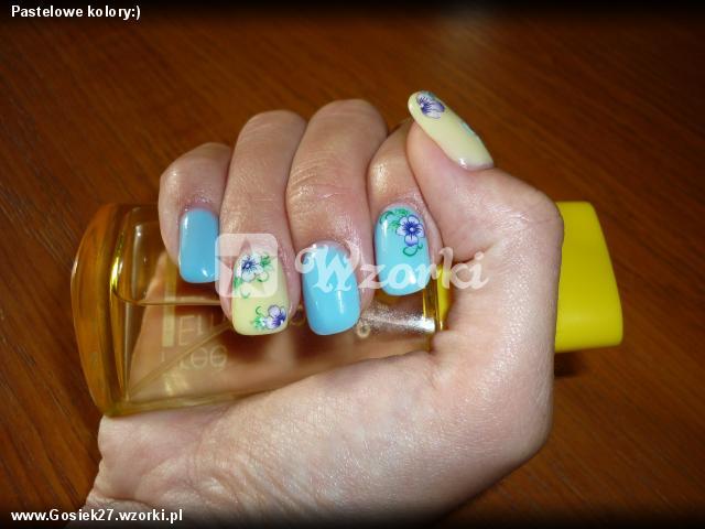 Pastelowe kolory:)