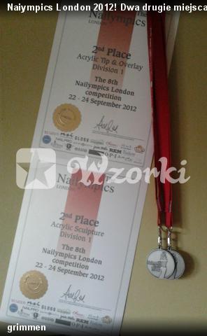 Naiympics London 2012! Dwa drugie miejsca i jedne czwarte:D