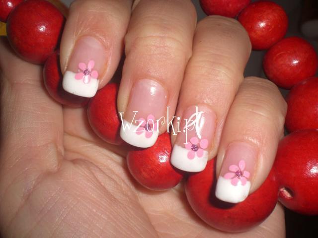 french z kwiatkiem