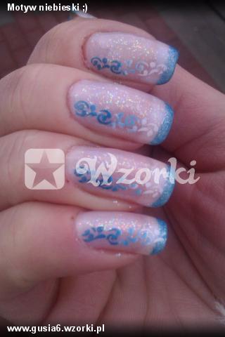 Motyw niebieski ;)