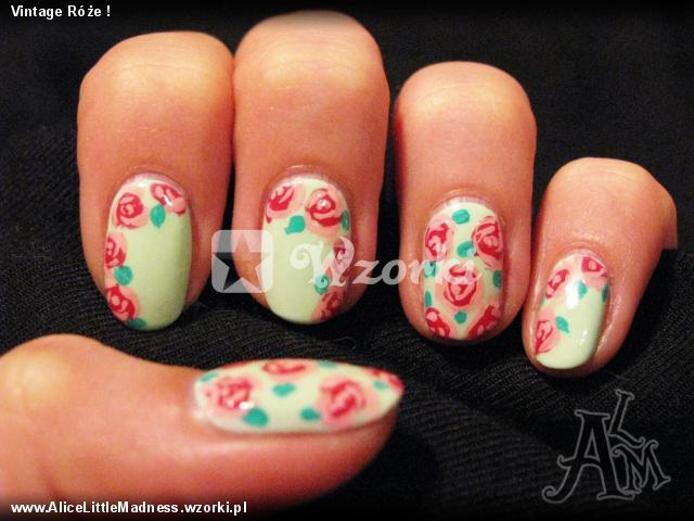 Vintage Róże !