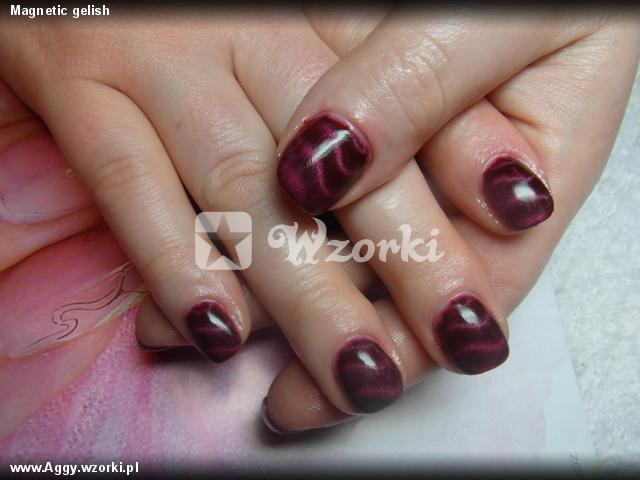Magnetic gelish