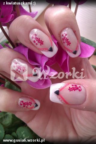 z kwiatuszkami :)