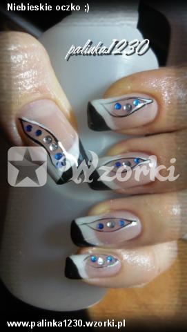Niebieskie oczko ;)
