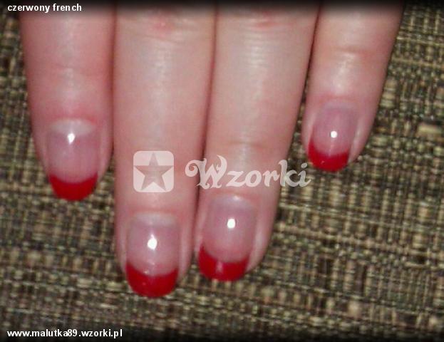 czerwony french