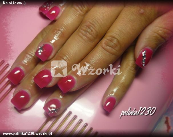 Na różowo ;)