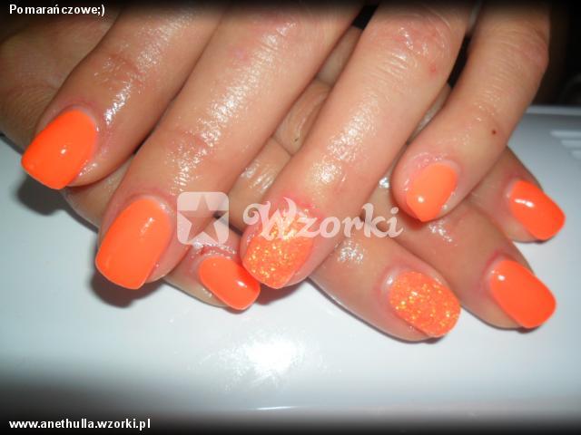 Pomarańczowe;)