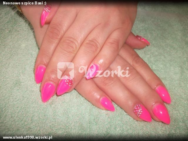 Neonowe szpice Basi :)