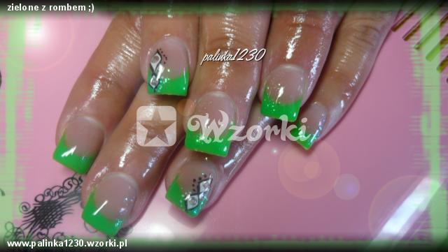 zielone z rombem ;)