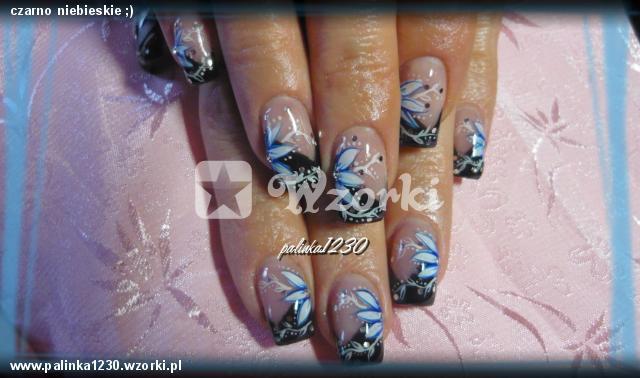 czarno niebieskie ;)