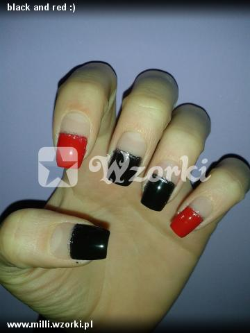 black and red :)