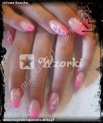 różowe frenche