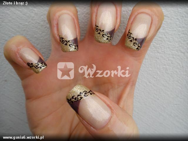Złoto i brąz ;)
